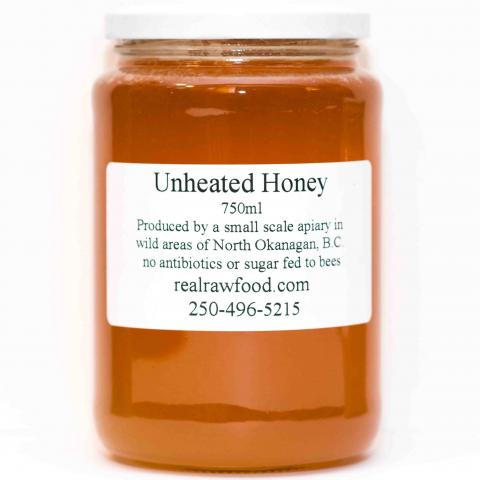 unheated honey